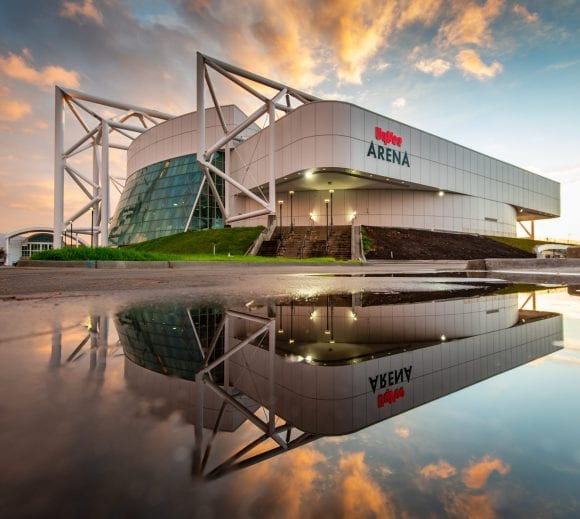 Kemper Arena is Reborn as Hy-Vee Arena after $39M Renovation